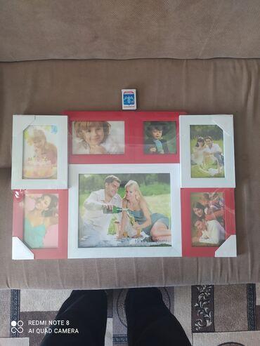 рамку для фото в Кыргызстан: Продаю большую фото рамкуещё в упаковке новая не вскрывалипокупали