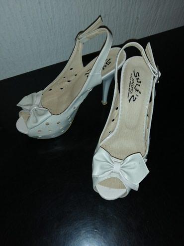 Sandale, boja krem, broj 37 - Novi Sad