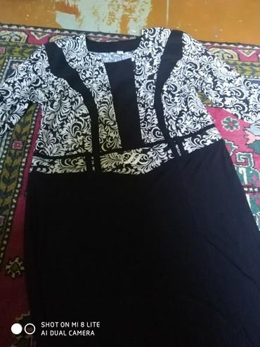 Платье самопошив 58 размера длиное в Бишкек