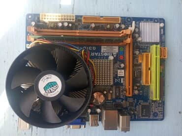 Комплект продаю.Мать:Biostar LGA775.Проц: Pentium Dual Core E5300
