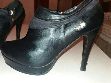 Crne dublje cipelice. 37 br. - Kosovska Mitrovica