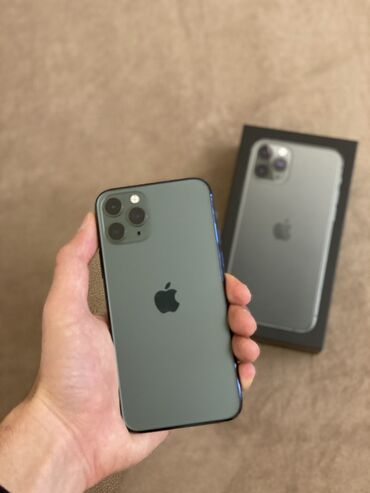 флай тонкий телефон в Азербайджан: Б/У IPhone 11 Pro 256 ГБ Серый (Space Gray)
