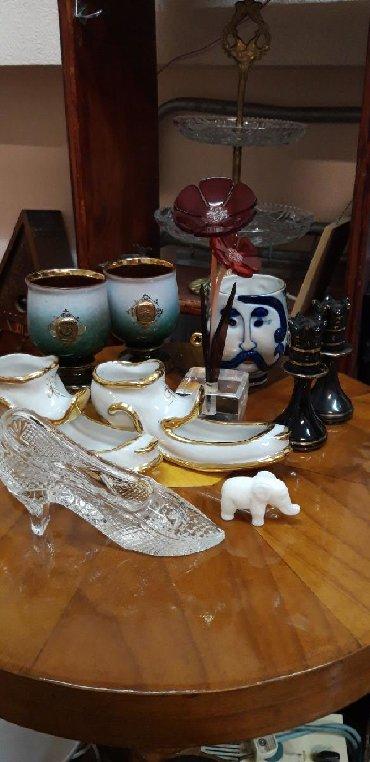 Фужеры - Кыргызстан: Советские сувениры, хрустальная туфля-800сом. Два