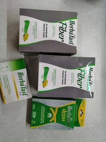 Herbafast set za mrsavljenje.Set sadrzi:2 kutije herbafast fiber