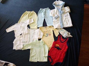 Bodi - Lebane: Paket za bebu 62-68 velicina sve je u odlicnom stanju sve za 550din