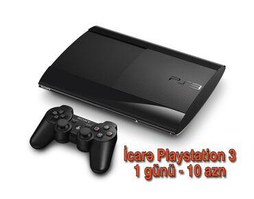 Playstation 3 icarəsi -1 günü 10 azn 7 gunden artiq goturenlere endiri