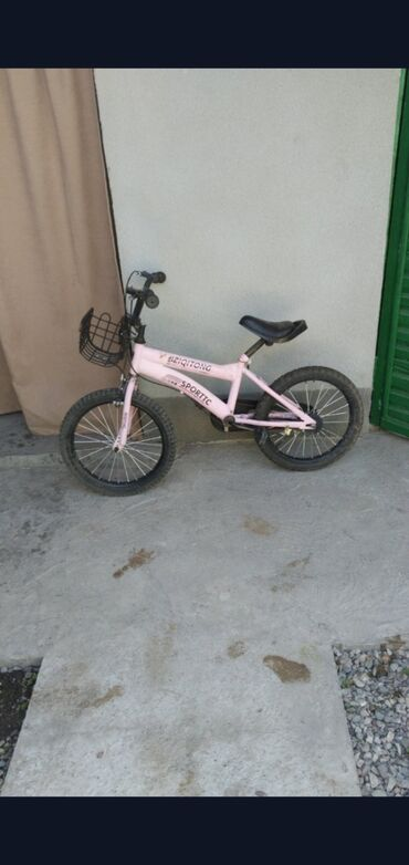 Детский велосипед от 4 до 7 лет