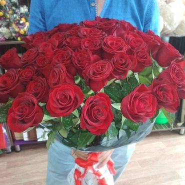 Штучно розы дёшево в Бишкек