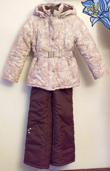 Детский мир - Шопоков: Зимний комбенизон для девочки. Б/У. Прошу 2500сом