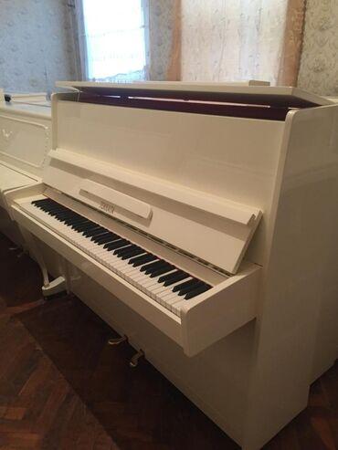 Piano və fortepianolar - Azərbaycan: Фортепиано ТОККАТО Российского производства в прекрасном состоянии и с