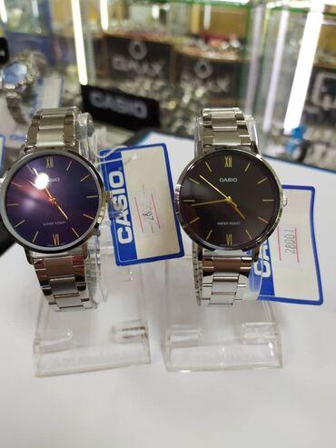 Синие Женские Наручные часы Casio