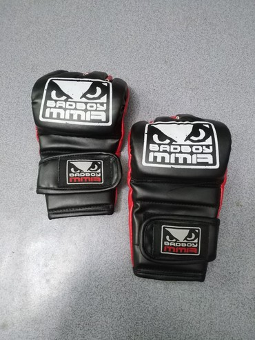 Перчатки в Кыргызстан: Снарядки BAD BOY MMA в очень хорошем качестве! Спортивный магазин