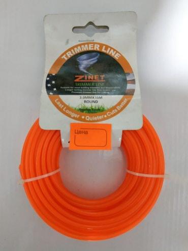 Газонокосилки в Кыргызстан: Леска на триммера 3.0мм Zinet trimmer line дл 15м