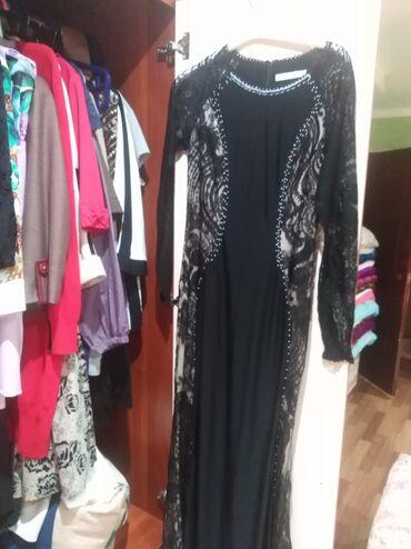 Платья - Джалал-Абад: Размер м чёрное платье 2000 сом новое одевала один раз