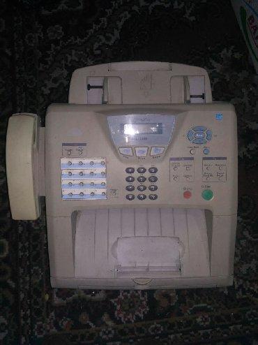 Телефон - Кыргызстан: Продаю телефон факсовый аппарат 700сом