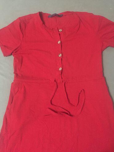 Платье красное длинное турецкое! Идёт для беременных, но можно и не б