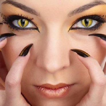 Kontaktna sociva u boji bez dioptrije-NOVO Scenska(godisnja)