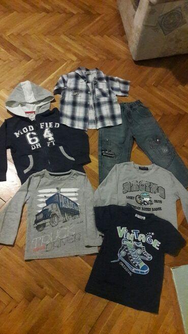Paket odeće - Sivac: Paket za dečake Vel 4.ocuvana