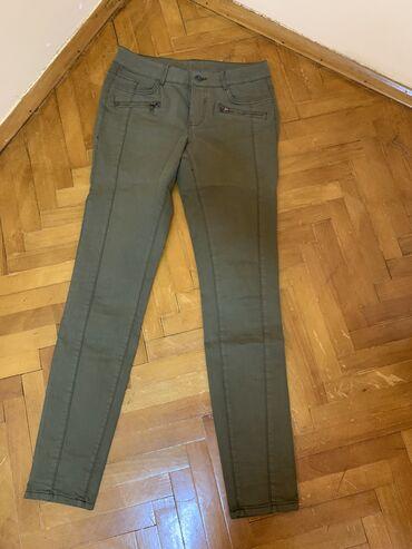 Pantalone c aelastin pamuk - Srbija: C&A pantalone jednom nosene