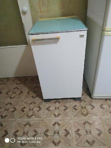 Б/у Однокамерный Белый холодильник