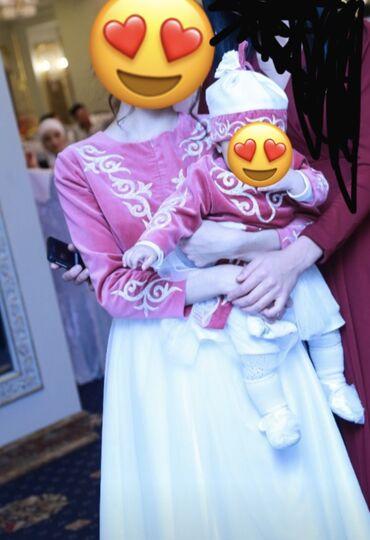 платье мама и дочь в Кыргызстан: Платья Мама и доча, сшита индивидуально на заказ, материал натуральный