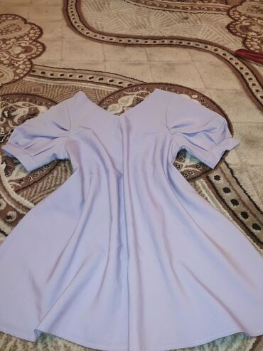 вечернее платье 48 50 размер в Кыргызстан: Вечернее платье длина выше колена Размер 48-50Был ремешок тонкий