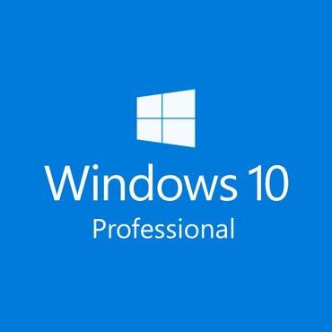 """Bakı şəhərində Hər növ personal komputer və noutbuklara """"Windows 10"""" əməliyyat"""
