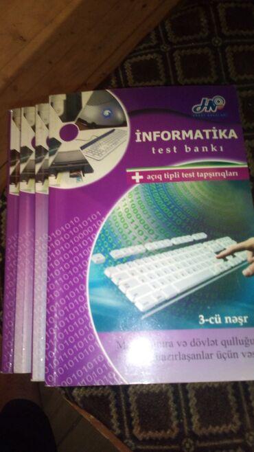 - Azərbaycan: Informatika test bankı Hədəf nəşriyyatı 4 ədəddir illeri 22 2011