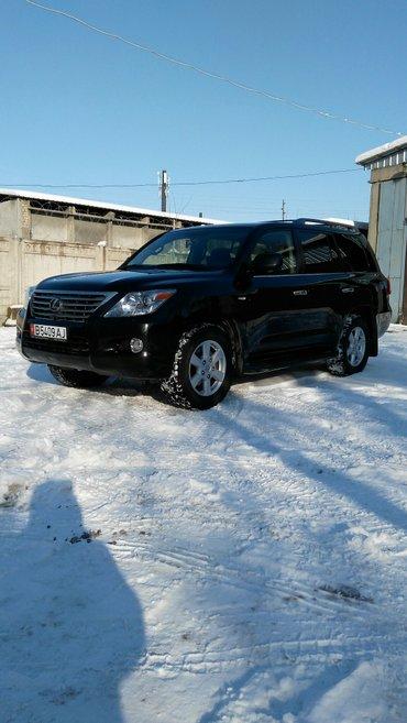 лексус lx - 570 чёрный , год 2011 , 11 месяц , полная комплектация , п в Бишкек