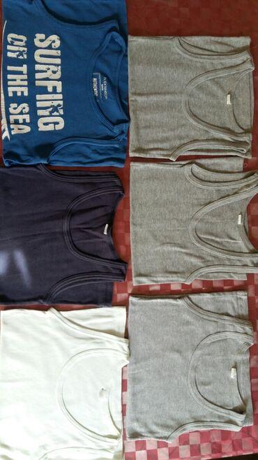 Majica sl sa - Srbija: Veš majice za dečake vel. 10 god.Polovne i ocuvane,100% pamuk.5 majici