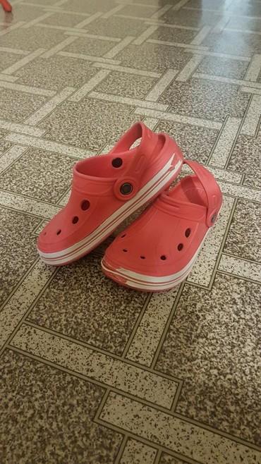 женские шлепки в Кыргызстан: Детские резиновые сандалии-шлепки. Б/у. 31-й размер