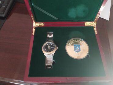 Продаю памятный значок и часы ШОС