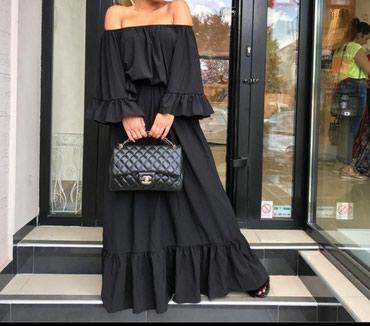 Prelepa haljina Viskoza elastin - Batajnica - slika 2