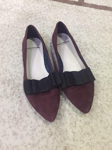 Женская обувь в Шопоков: Новые шикарные балетки бренда Vagabond, натуральная замша