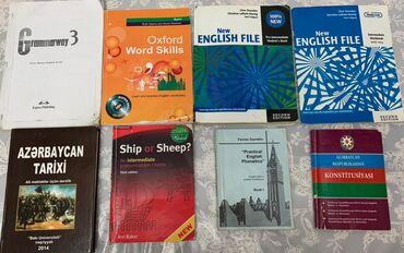 Kitablar, jurnallar, CD, DVD