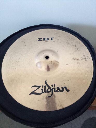 """Барабаны - Бишкек: Продаю Crash тарелку Zildjian размер 14""""/36cm. Оригинал"""