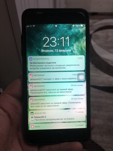 Iphone 6 plus, 64 gb, grey in Бишкек