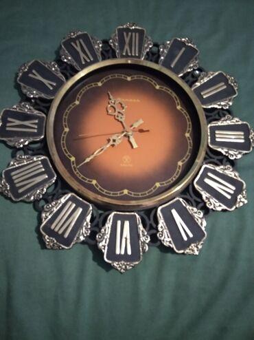 Антикварные часы - Кыргызстан: Настенные часы СССР, (70г.г.)