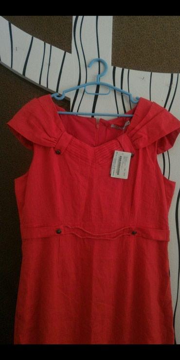 льняное платье большого размера ве в Кыргызстан: Платье размер XL. Бренд. Новое. Льняное.Обмена и возврата нет