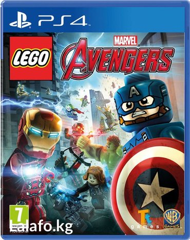 Lego Marvel Avengers PS4 в Бишкек