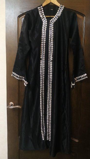 хиджаб женский в Кыргызстан: Хиджаб,мусульманское платье накидка,материал легкий шелк