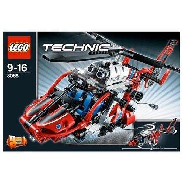 lego technic volvo l350f в Кыргызстан: Конструктор LEGO Technic 8068 Спасательный вертолет* Доставка по