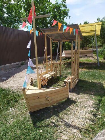 Детский мир - Новопокровка: Кораблик. Для детских игровых площадок. Для детского сада. Размеры