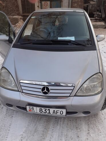 биндеры 160 листов для дома в Кыргызстан: Mercedes-Benz A 160 1.6 л. 2000 | 177000 км