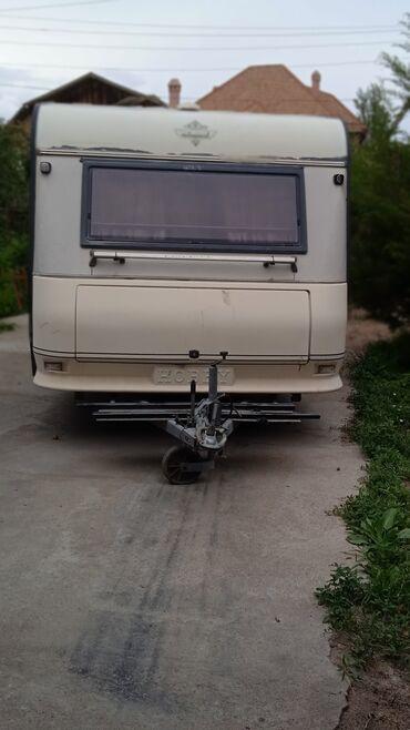 Транспорт - Тамчы: Дом на колёсах. Hobby (Prestige 425) Внутри имеется спальня, кухня и д