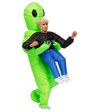 """Взрослый надувной костюм """"Похищение пришельцами"""" Рост 160-190 см При з"""