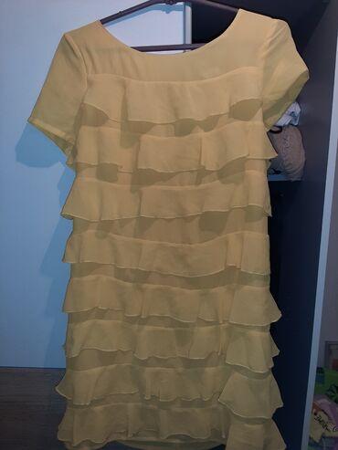 Leprsava zuta haljina ko voli vesele boje
