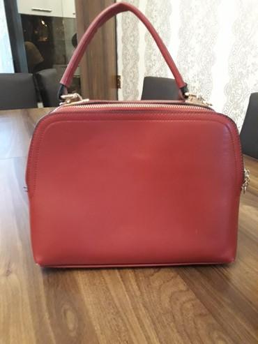 qırmızı busqalter - Azərbaycan: Qırmızı çanta 15 man satılır. Təzə kimidir