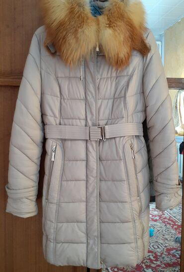Шифер кант - Кыргызстан: Куртка состояние нового Мех натуральная лиса очень тёплая куртка