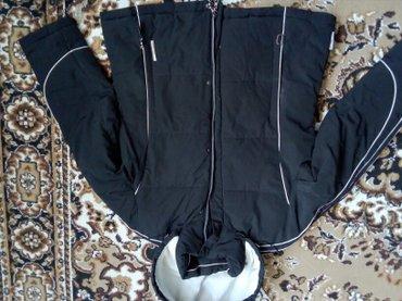женский пуховик с капюшоном в Кыргызстан: Куртка-пуховик для лыж,теплая,капюшон отстегивается,с внутренними доп